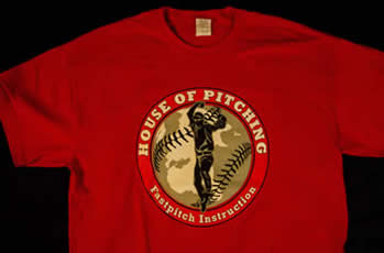 House Of Pitching Red Shirt
